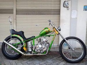 Custom Yamaha Scorpio Cooper